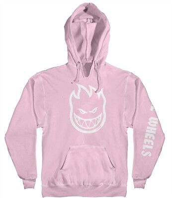 Spitfire - Bighead Hombre Mens Hoodie Pink/White