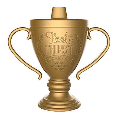FRED Lil Winner Trophy Sippy Juice Goblet Cup BPA Free Baby Shower Gift
