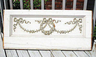 antique ARCHITECTURAL HOUSE FACIA / PEDIMENT  -  CARVED ,ORNATE -  WOW