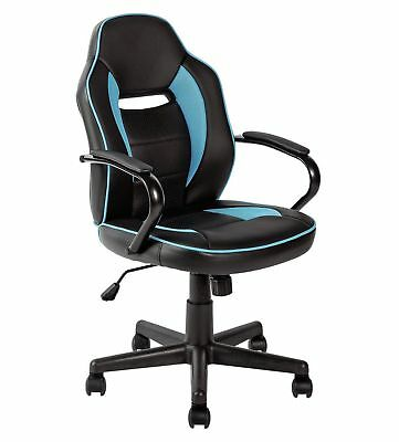 HOME Mid Back Office Chair - Blue - N05
