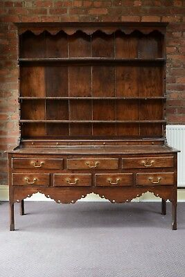 George 111 Dresser Antique Oak Dresser 1780s