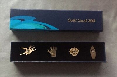GC2018 Commonwealth Games 2018 Exclusive Pins - highly desirable memorabilia