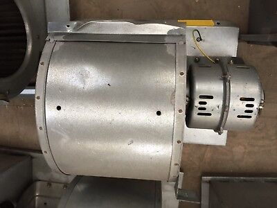Fan blower squirrel cage extraction 1p 240v
