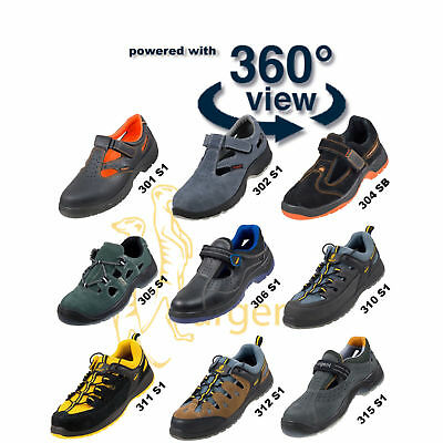 Safety Shoes Work Shoe Sandal Steel Toe Cap Boots Modern Comfortable Only New