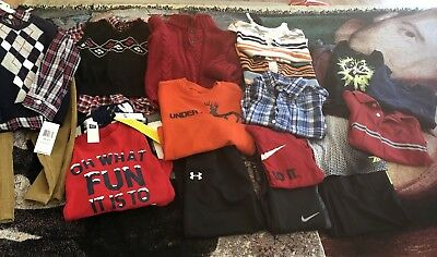 HUGE 4T Lot W/Sz 8 Shoes! Gap, Nike, Gymboree, Nautica, Polo, some NWT! Cute!!