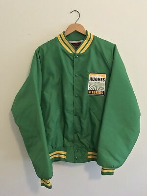 VTG Hughes Hybrid Seed Farmer Jacket Green XL
