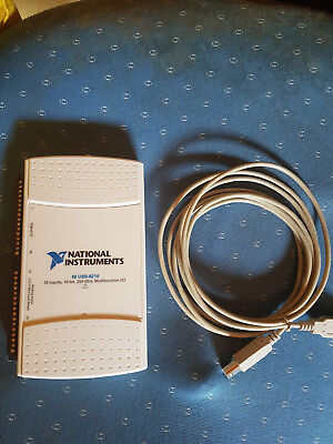 National Instruments USB-6210 Data Acquisition Card, NI DAQ,