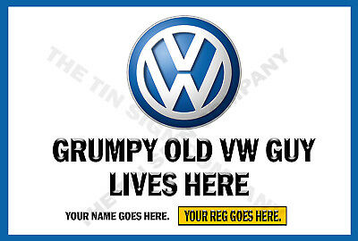 GRUMPY OLD TRIUMPH GUY LIVES HERE SIGN GREAT GIFT FOR ANY BIKER OR WORKSHOP ETC