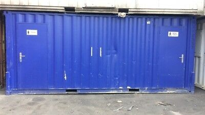 20ft container 3 + 1 toilet