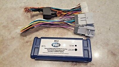 PAC OS-2 OnStar Radio Replacement Interface for Cadillac CTS, SRX