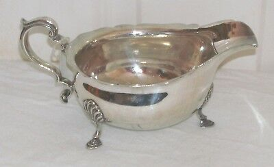 Early Silver Plated Sauce Boat Made By Mappin & Webb In Good Condition