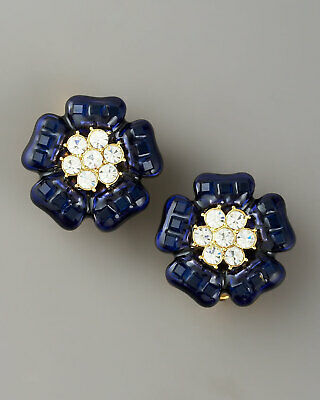 Kate Spade New York Carroll Gardens Stud Earrings Exquisite Sapphire