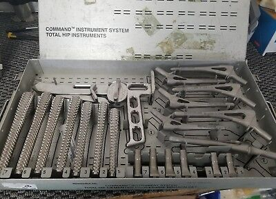 Stryker Howmedica 6266-9-935 Total Hip Broach Set Orthopedic Surgical Osteonics