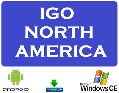 iG0 Prim0 GPS Navigation Latest North America Map for Windows CE or Android