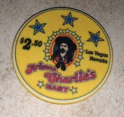 Arizona Charlie's $2.50 Casino Chip Las Vegas Nevada 2.99 Shipping