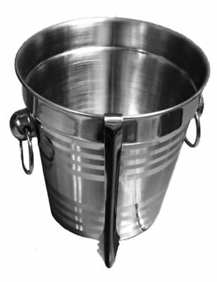 Ice Bucket Stainless Steel Cooler Wine  Champagne Party