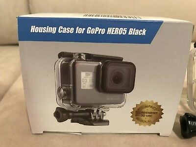 Wealpe GoPro Camera Housing case  compatible with Hero 6/Hero 5 Black