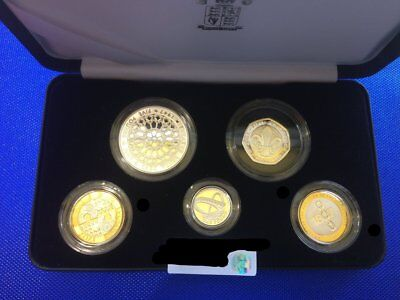 2007 United Kingdom Piedfort Sterling Collection