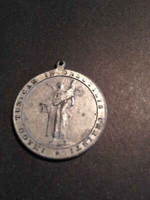 "German Coin/Token/Medal  Dated '1891 Very Unusual ""Made into a neckless"" Silver?"