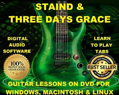 STAIND GUITAR TAB Lesson CD Software - 42 Songs - $8.75 | PicClick