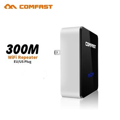 802.11N 300Mbps WiFi Wireless Repeater AP Router Range Extender Booster COMFAST