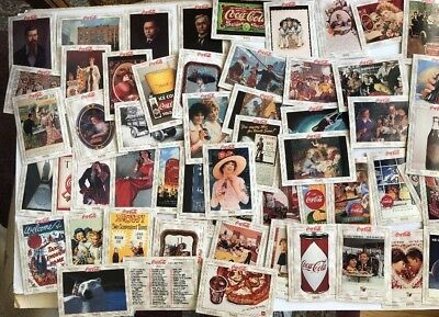 1993 Collect-A-Card The Coca-Cola Collection Series 1 - 100 Trading Card Set