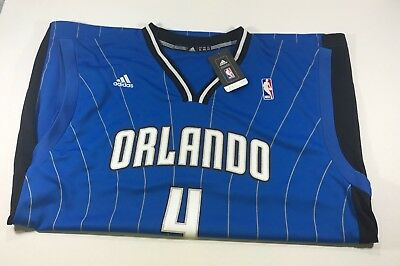 9d7c231be28 Adidas Orlando Magic Elfrid Payton NBA Royal Blue Replica Jersey MSRP 70  Size XL