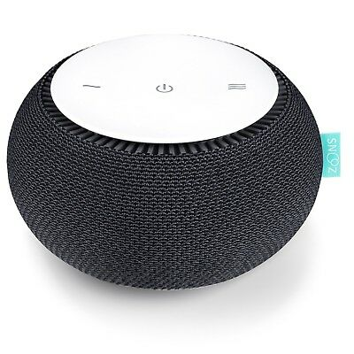 SNOOZ White Noise Sound Machine - Real Fan Inside, Control via iOS and Android A