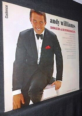 Andy Williams: Lot of Six Pressings (5 Mono), 1958 - 1968, VG to MINT, Very Nice