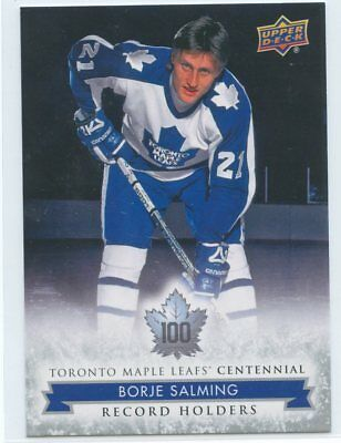 2017 Upper Deck Toronto Maple Leafs Centennial Sp #138 Borje Salming *50106