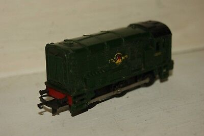 TT gauge 3mm USED Tri-ang Diesel Shunter 08 in BR Green 13007 GOOD RUNNER