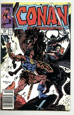 Conan The Barbarian #199-1987 fn- Devourer