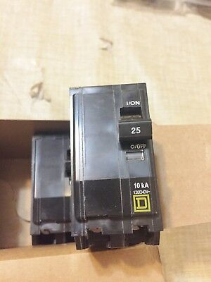 One New From Bulk Box Square D Qo225 25A Circuit Breaker Best Price Free Ship