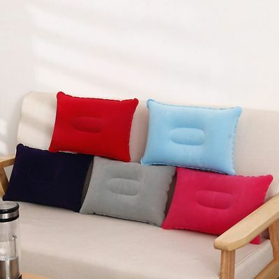 Double Sided Inflatable Pillow Mat Cushion For Camping Travel Sleep Sale