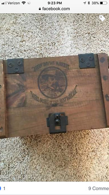Jack Daniels Lynchburg Tennessee original wooden box whiskey