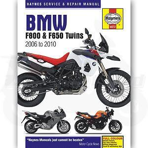 Haynes Bmw F800Gs 06-2011  Haynes Service Manual Workshop Manual 2006-2011 Bmw