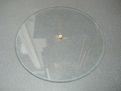 Aneroid Barometer Bevel Edge Glass & Pointer 219 - 220 Mm Dia Parts Spares