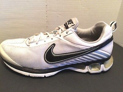 Nike Men's Air Max Modern Running Shoes White/Black Mix Size 9.5  #876066-101