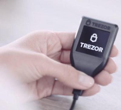 ⭐ TREZOR MODEL T - Cryptocurrency Hardware Wallet BTC ETH ERC20 IN STOCK !!! ⭐