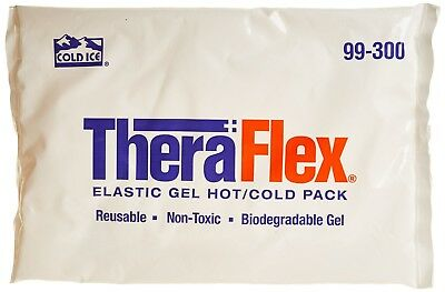 TheraFlex Reusable Cold/Hot Pack Ideal For Cooling Relief Elastic Gel 30 x 21cm