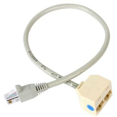 StarTech 2-to-1 RJ45 Splitter Cable Adapter - F/M