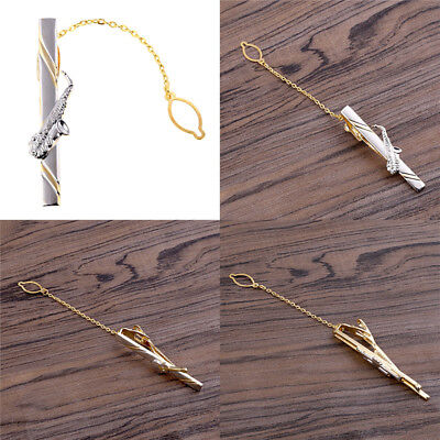 Musical Instrument Tie Bar Clasp Clip Gifts Guitar Saxophone Trumpet Men Jewerly