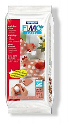 Staedtler Fimo Air Basic 8101-76 Drying Modelling Clay 1kg - Terracotta