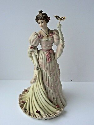 """Ltd Edition Wedgwood Figurine """"Turn of the Century Ball""""  for Spink - 122/10000"""