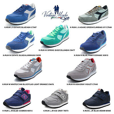 Diadora K-Run Calzature Scarpa Donna Uomo Bambino Bambina Sport Casual Shoes