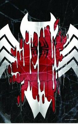 Amazing Spider-Man 800 Black Suit Virgin Variant Kirkham  Red Goblin App Venom