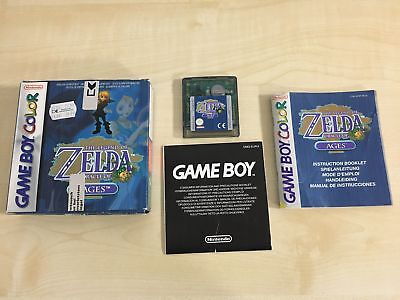 The Legend of Zelda Oracle of Ages GameBoy Color Advance Spiel OVP TOP Zustand