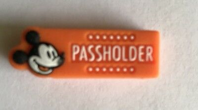 NEW Authentic Walt Disney World Annual Passholder Magic Band  Orange Slider WDW
