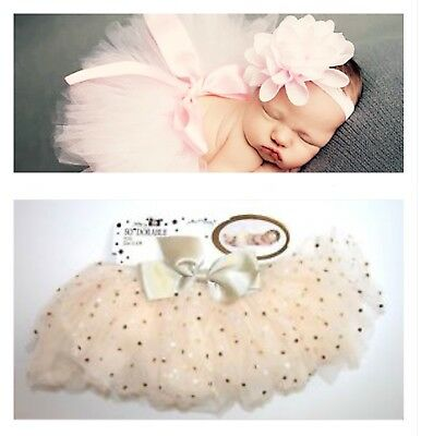So Dorable Baby Girl Tutu Gold Tulle Skirt Size 0-3M New adorable photography