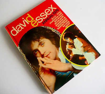 Vintage Uk Hb Book - The First Official David Essex Annual 1976 - Unclipped